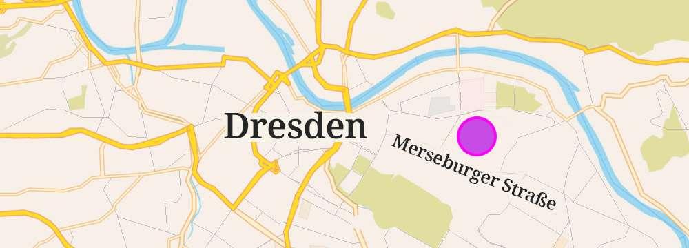 Honey Paradise Dresden Anfahrt Karte